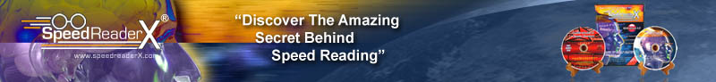 Speed Reader X Speed Reading Made Easy Memory And Comprehension Training Course